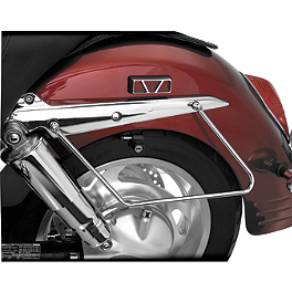 Show Chrome Saddlebag Supports Chrome - 2003 Honda VTX1300S Cobra Saddlebag Supports - Chrome
