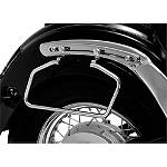 Show Chrome Adjustable Saddlebag Supports Chrome -  Cruiser Saddle Bags