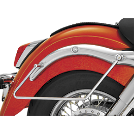 Show Chrome Saddlebag Supports Chrome - 2007 Honda Shadow VLX - VT600C Show Chrome Helmet Holder Pin - 10mm