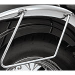 Show Chrome Saddlebag Supports Chrome -  Cruiser Saddle Bags