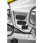 Show Chrome Swingarm Scuff Plate - Chrome/Rubber - Cruiser Frame Covers
