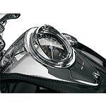 Show Chrome Speedometer Visor - Show Chrome Cruiser Dash and Gauges