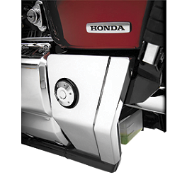 Show Chrome Swingarm Covers - 2007 Honda VTX1800F2 Show Chrome Vantage Rear Highway Boards