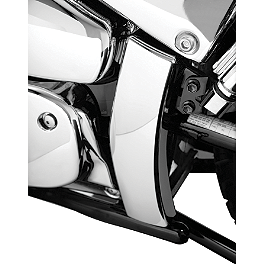 Show Chrome Swingarm Covers - 2007 Suzuki Boulevard M50 SE - VZ800Z Show Chrome Front LED Turn Signal Conversion Kit