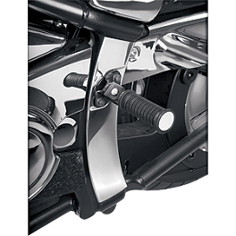 Show Chrome Swingarm Covers - 2007 Kawasaki Vulcan 2000 Classic LT - VN2000F Show Chrome Front LED Turn Signal Conversion Kit