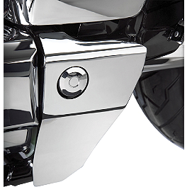 Show Chrome Swingarm Covers - Cobra Driveshaft Cover