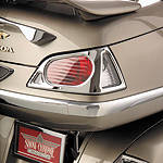Show Chrome Trunk Lens Grilles - Chrome - Show Chrome Cruiser Fairing Kits and Accessories