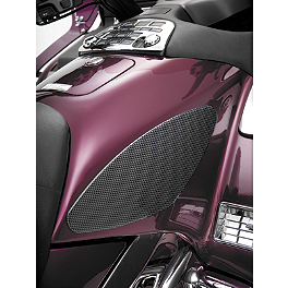 Show Chrome Tank Scuff Pads - Saddlemen Trunk Soft Liner Bag