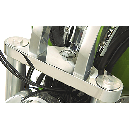 Show Chrome Triple Tree Accent Cover - 2005 Honda VTX1800F2 Show Chrome Vantage Rear Highway Boards
