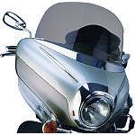Show Chrome Touring Windshield - Tinted - Motorcycle Windshields & Accessories