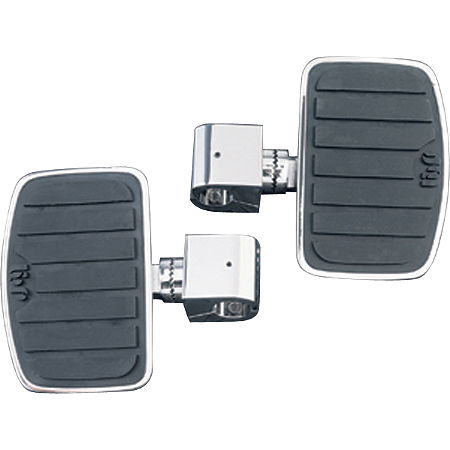 Show Chrome Universal Floorboard Set With 1-1/4