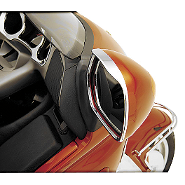Show Chrome Visored Mirror Trim - 2008 Honda Gold Wing 1800 Audio Comfort Navigation - GL1800 Show Chrome Heel-Toe Shifter