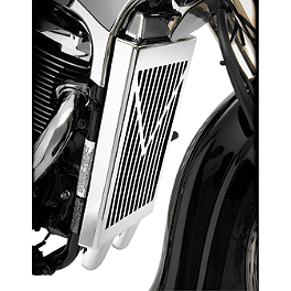 Show Chrome V-Style Radiator Grille - Chrome - 2009 Suzuki Boulevard C50 - VL800B Show Chrome Driveshaft Cover