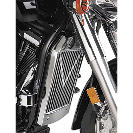 Show Chrome V-Style Radiator Grille - Chrome - 2009 Kawasaki Vulcan 2000 Classic - VN2000H Show Chrome Highway Bars