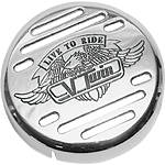 Show Chrome V-Twin Horn Cover - Show Chrome Cruiser Products