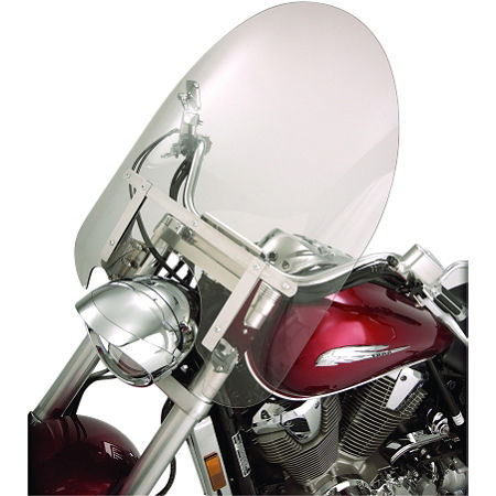 Show Chrome Classic Windshield For Oversized Forks - Main