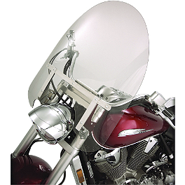 Show Chrome Classic Windshield For Oversized Forks - 2006 Honda VTX1800S1 Show Chrome Helmet Holder Pin - 10mm