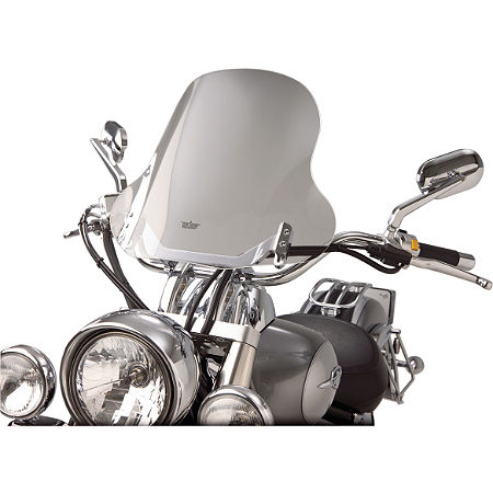 Show Chrome E-Z Mount Cruiser Windshield For 1