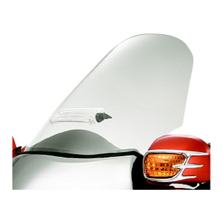 Show Chrome Sweptback Windshield - Main