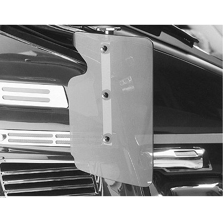 Show Chrome 500 Series Contoured Wind Deflectors - Clear - Main