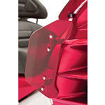 Show Chrome Lower Wind Deflector - Bright Red - Cruiser Lowers and Wind Deflectors