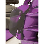 Show Chrome Lower Wind Deflector - Magenta - Motorcycle Windshields & Accessories