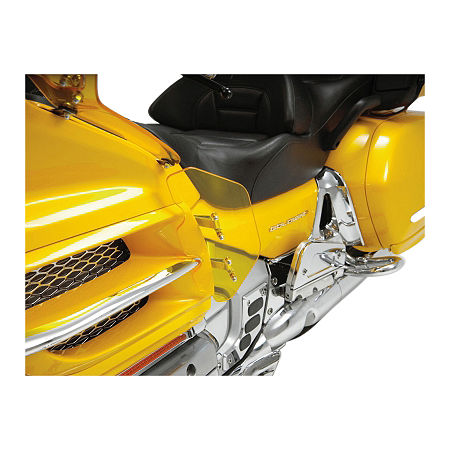 Show Chrome Lower Wind Deflector - Yellow - Main