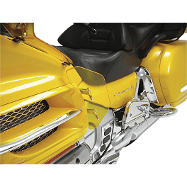 Show Chrome Lower Wind Deflector - Yellow - Show Chrome Upper Wind Deflector - Yellow