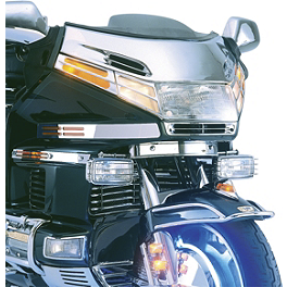 Show Chrome Windshield Accent - 1995 Honda Gold Wing Interstate 1500 - GL1500I Show Chrome Luggage Rack - Chrome