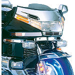 Show Chrome Windshield Accent With Eagle - Motorcycle Windshields & Accessories