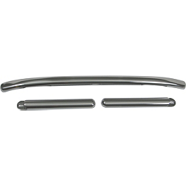 Show Chrome Classic Windshield Trim Kit - Show Chrome Comfort Raised Closed Ended Grips