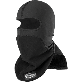 Schampa Warmskin Pharaoh Deluxe - Zan Headgear Neoprene Full Face Mask With Neck Shield