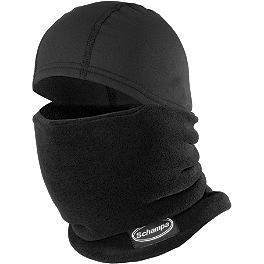 Schampa Warmskin Skull Gaiter - Alpinestars C-1 Windstopper Gloves