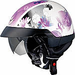 Scorpion EXO-100 Helmet - Lilly - Discount & Sale Cruiser Half Shell Helmets