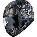 Scorpion EXO-500 Helmet - Skull - Scorpion Motorcycle Helmets and Accessories
