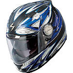 Scorpion EXO-1100 Helmet - Street Demon - Scorpion Motorcycle Helmets and Accessories