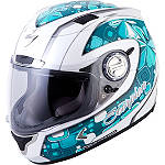 Scorpion EXO-1100 Helmet - Tiffany - Mens Full Face Dirt Bike Helmets