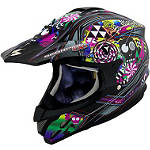 Scorpion VX-34 Demented Helmet - WOMENS--HELMETS ATV Helmets and Accessories