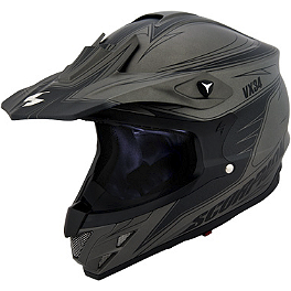 Scorpion VX-34 Spike Helmet - Scorpion VX-34 Oil Helmet