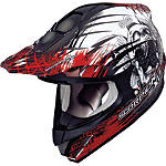 Scorpion VX-34 Scream Helmet - SCORPION-PROTECTION Dirt Bike kidney-belts