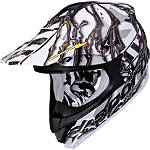 Scorpion VX-34 Oil Helmet - SCORPION-PROTECTION Dirt Bike kidney-belts