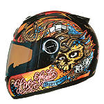 Scorpion EXO-750 Helmet - Live Fast - Full Face Dirt Bike Helmets