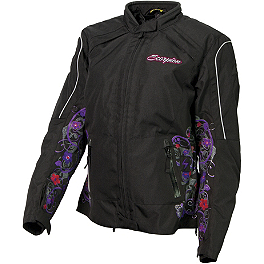 Scorpion Women's Dahlia 2 Jacket - Firstgear Women 's Softshell Liner Jacket