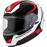Scorpion EXO-R2000 Helmet - Dispatch - Womens Scorpion Full Face Motorcycle Helmets