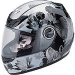 Scorpion EXO-400 Helmet - Lilly - Womens Scorpion Full Face Motorcycle Helmets