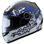 Scorpion EXO-400 Helmet - Urban Destroyer - Full Face Dirt Bike Helmets
