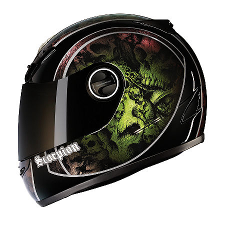 SCORPION EXO-400 HELMET - SKULL BUCKET - Main