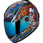 Scorpion EXO-400 Helmet - Show Time -  Open Face Motorcycle Helmets