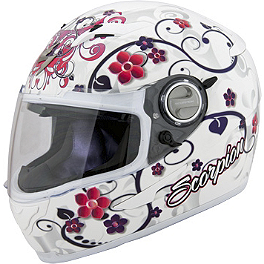 Scorpion EXO-500 Helmet - Dahlia 2 - Icon Alliance Helmet - Cherry Pop