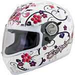 Scorpion EXO-500 Helmet - Dahlia 2 - Womens Full Face Motorcycle Helmets